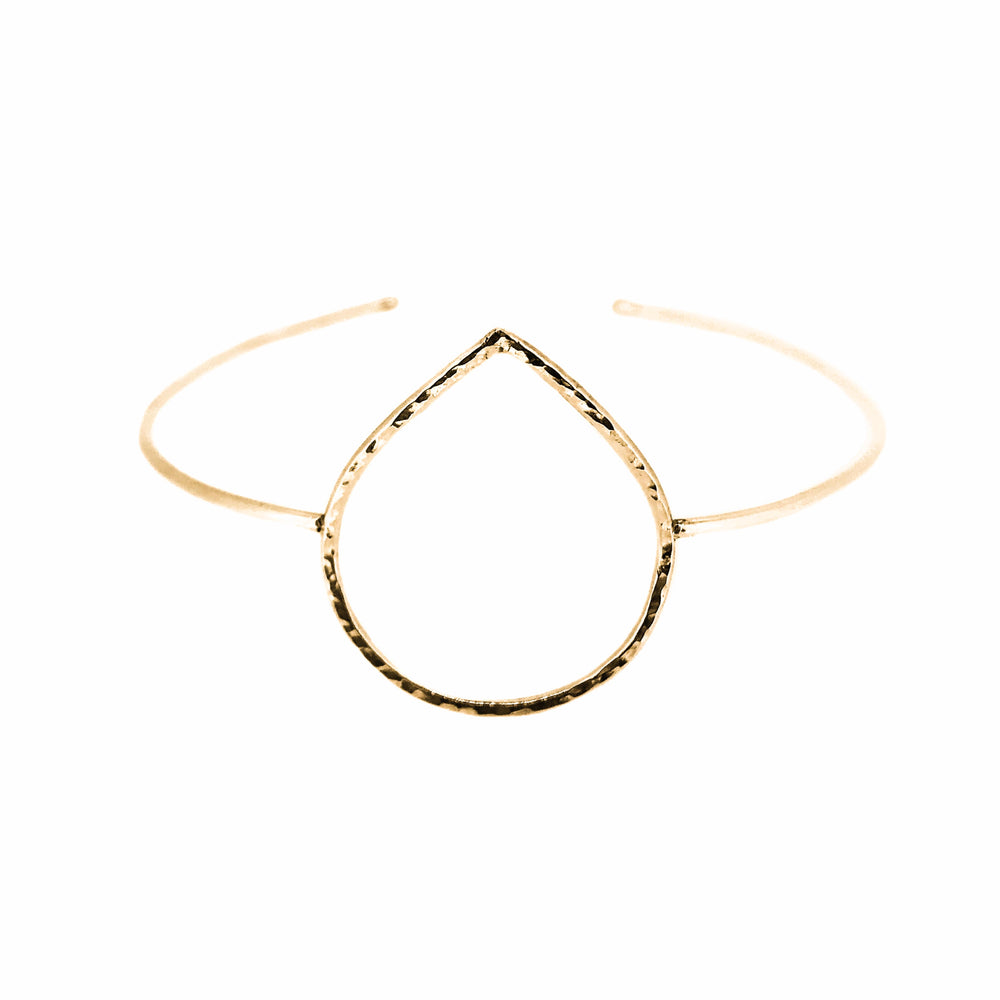 Droplet Cuff | 18ct Yellow Gold