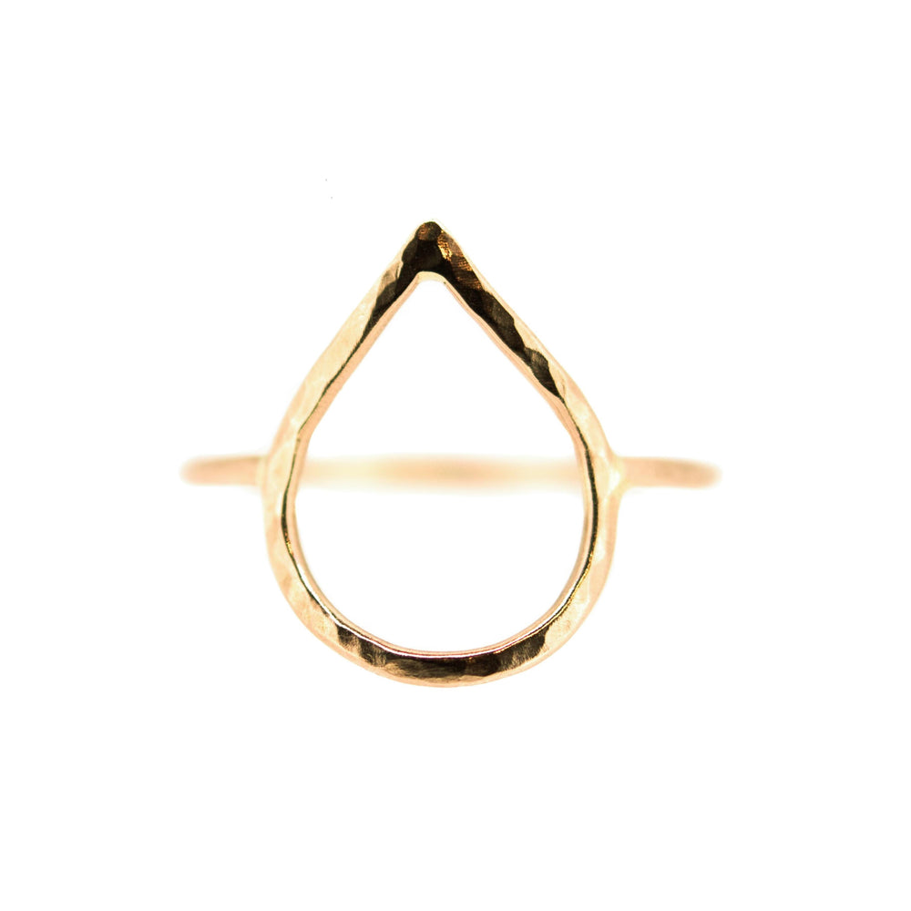 Droplet Ring | 18ct Rose Gold