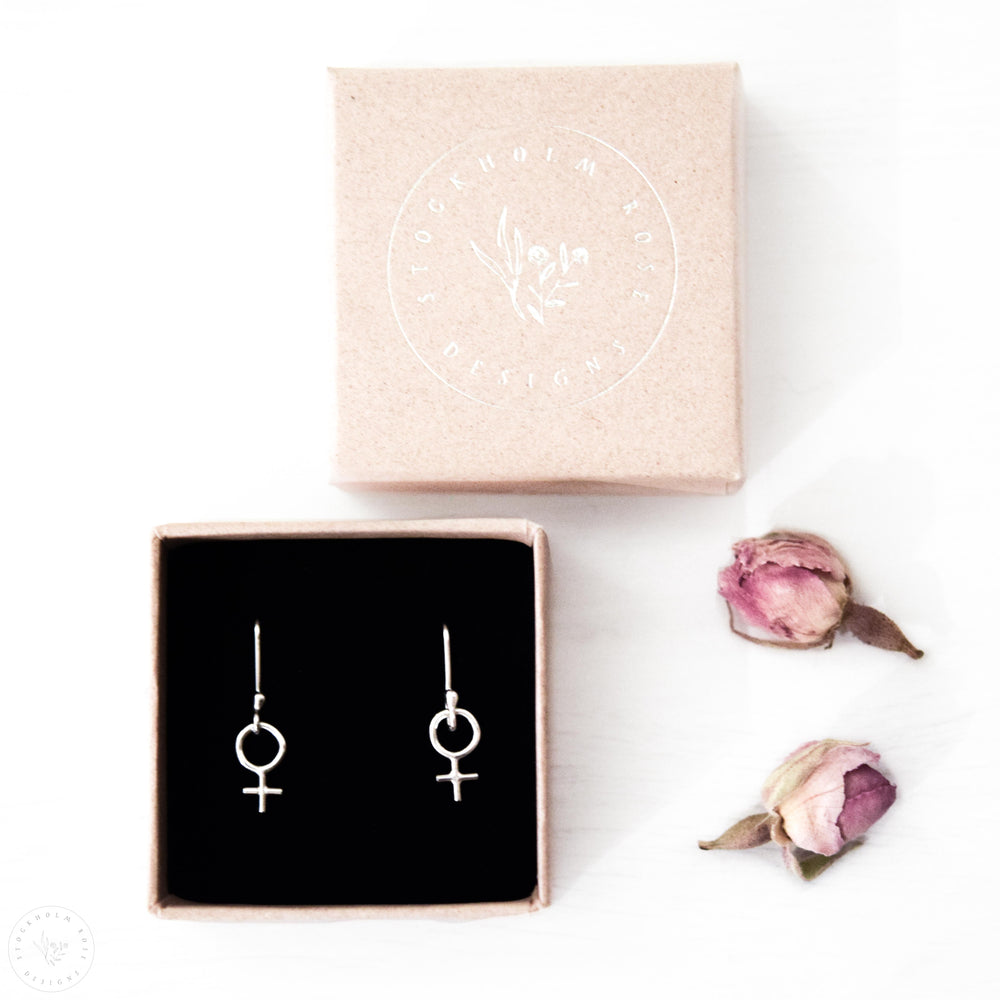 Droplet Earrings | Sterling Silver