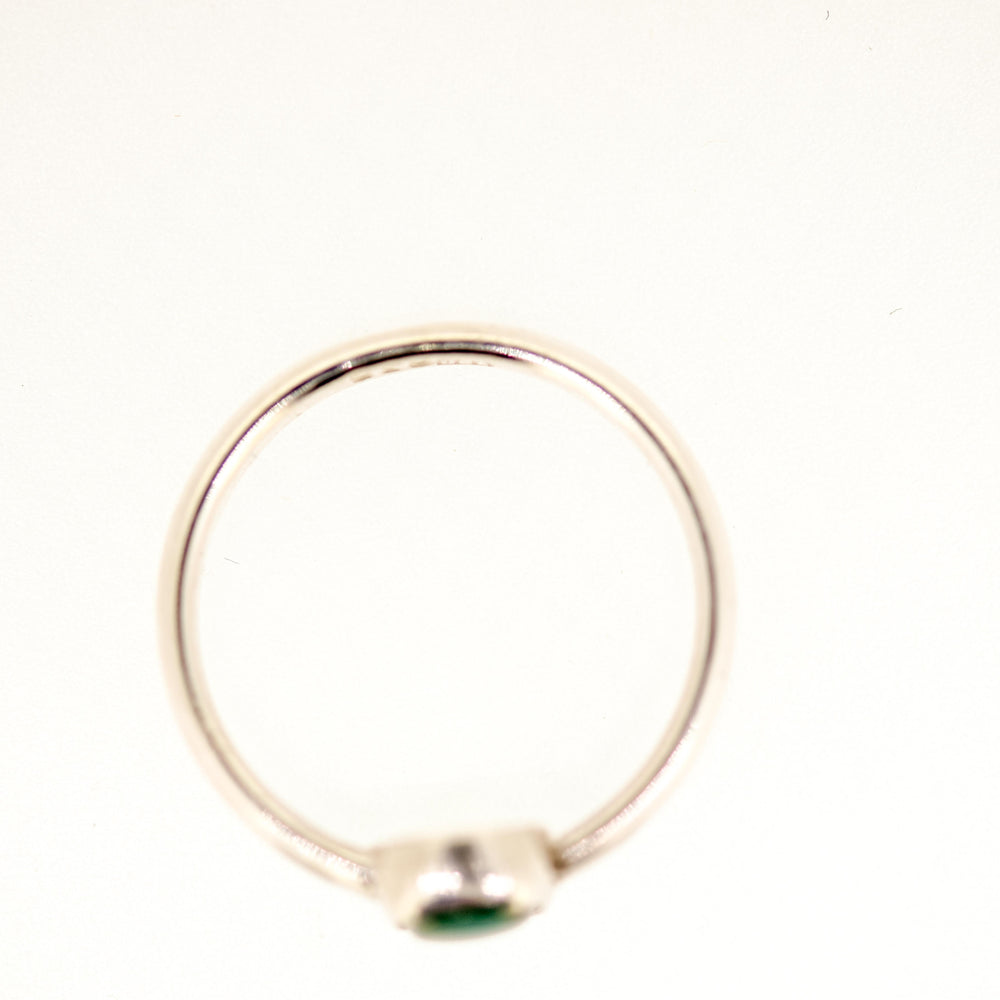 Fox Turquoise Ring Size 7