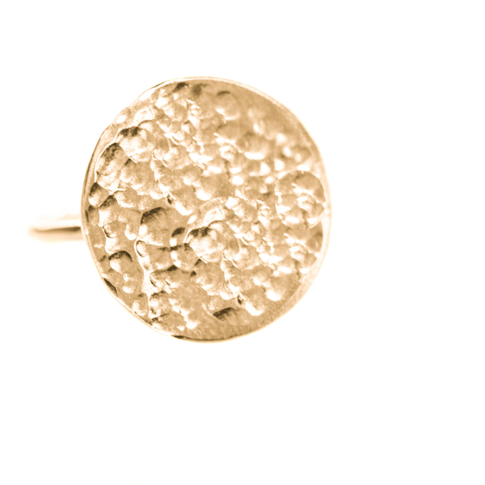 Full Moon Ring | 18ct Rose Gold