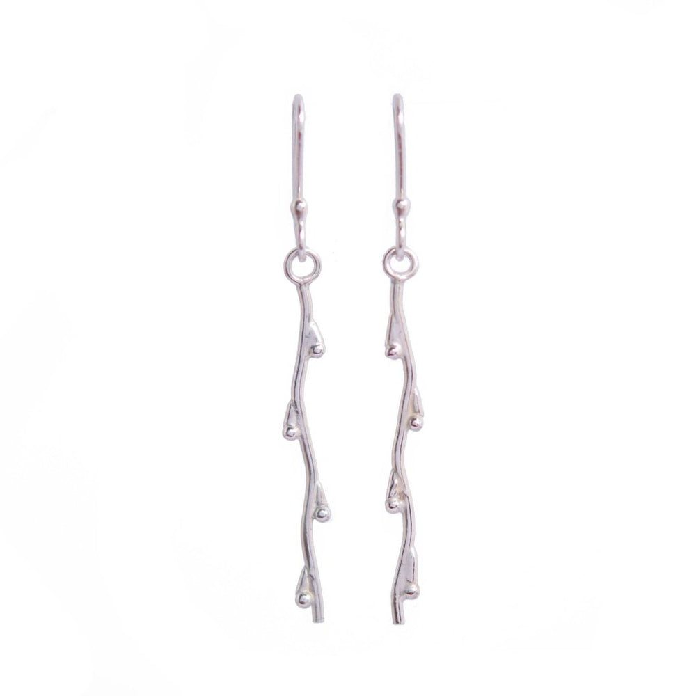 Branch Earrings - Stockholm Rose Designs - Eco Friendly Jewellery
