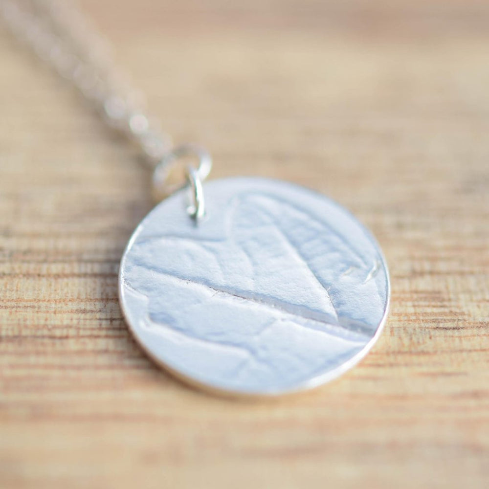 Oak Leaf Necklace - Stockholm Rose Designs - Eco Friendly Jewellery