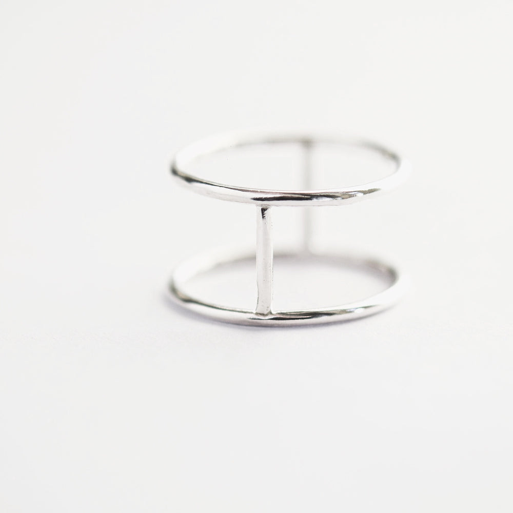 Double Ring (Silver and Gold)
