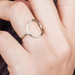 Karma Ring | Sterling Silver