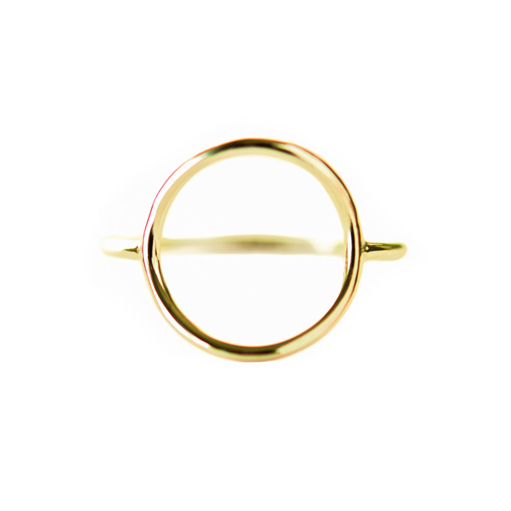 Karma Ring | 18ct Yellow Gold