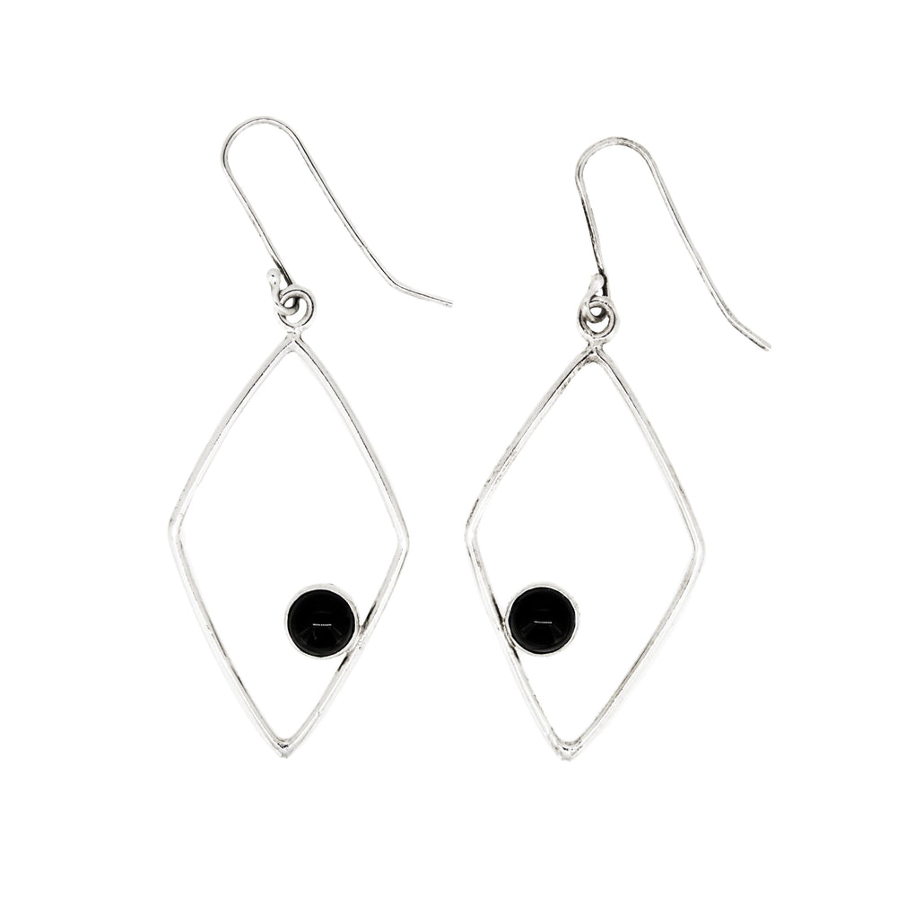 Onyx Diamond Earrings