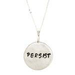 Persist Necklace | Sterling Silver