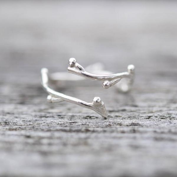 Branch Ring - Stockholm Rose Designs - Eco Friendly Jewellery