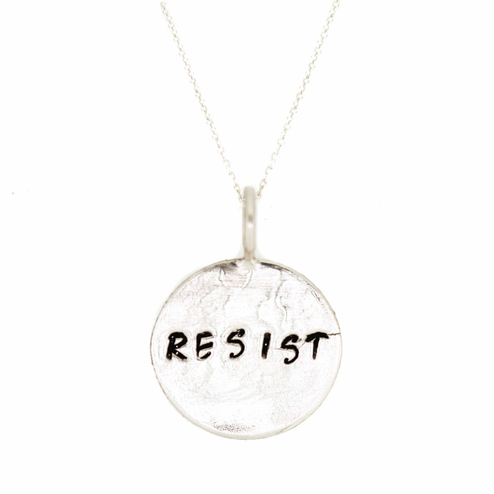 Resist Necklace | Sterling Silver