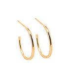 Simple Hoop Earrings | 18ct Yellow Gold