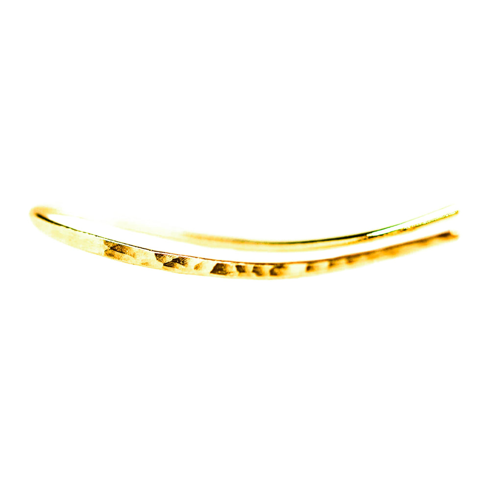 Small Ear Climbers | 18ct Yellow Gold