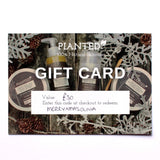 Physical and Digital Gift Cards
