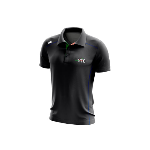 Men's Team Vic Graphite Polo