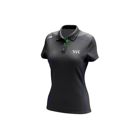 Women's Team Vic Graphite Polo