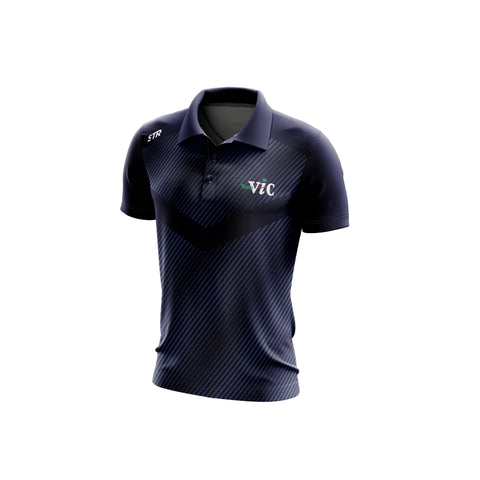 Men's Tennis Navy Polo (Late Order Competition)
