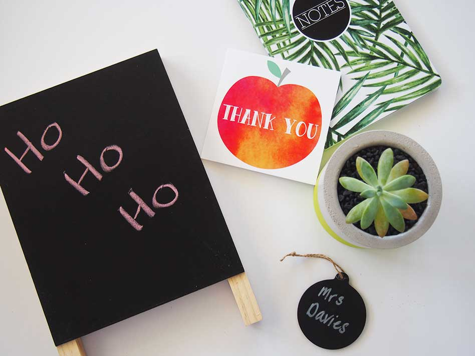 Teacher Gift Ideas to suit all budgets