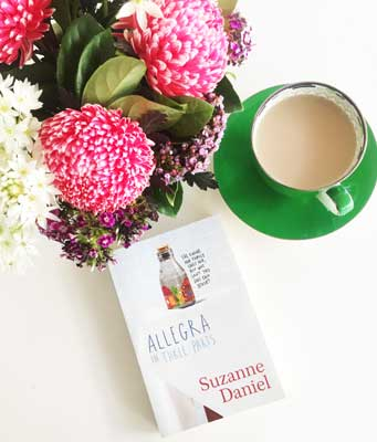 November Bookclub Book - Allegra in Three Parts