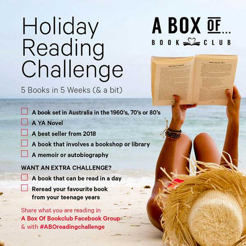A Box Of Bookclub Holiday Reading Challenge