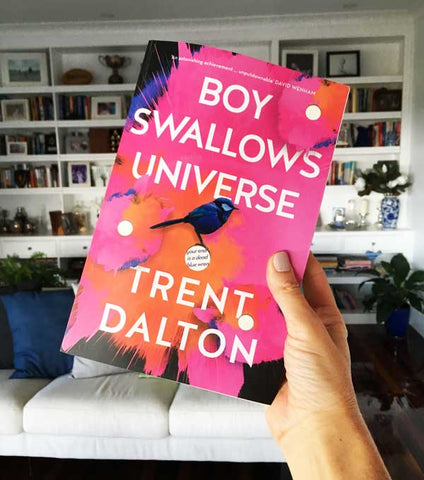 A Box Of Bookclub Boy Swallows World