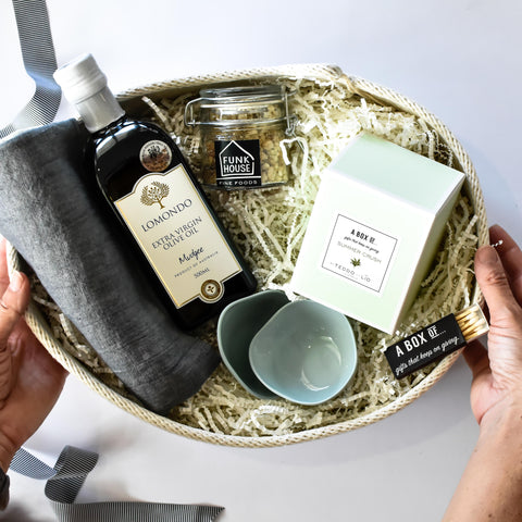 A Box Of Corporate Gift Hampers