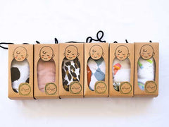 A Box Of Bamboo Baby Wraps