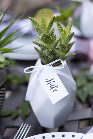 Personalise placesetting