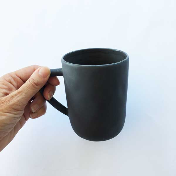 Simple & Stylish - Flax Ceramic Mug as an optional extra