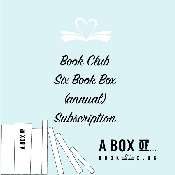 Book Club 6 Book Box (annual) Subscription