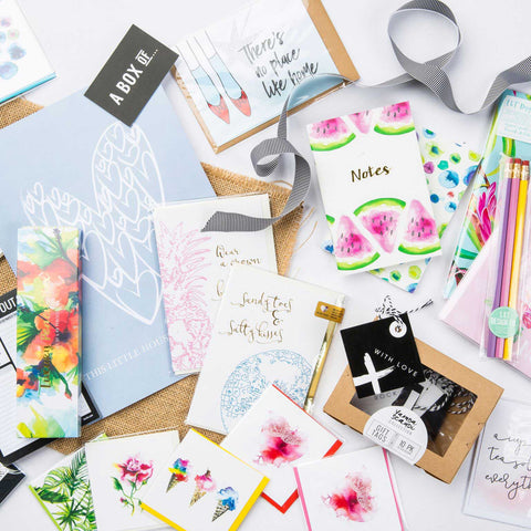 4 x per year Stationery Subscription Club