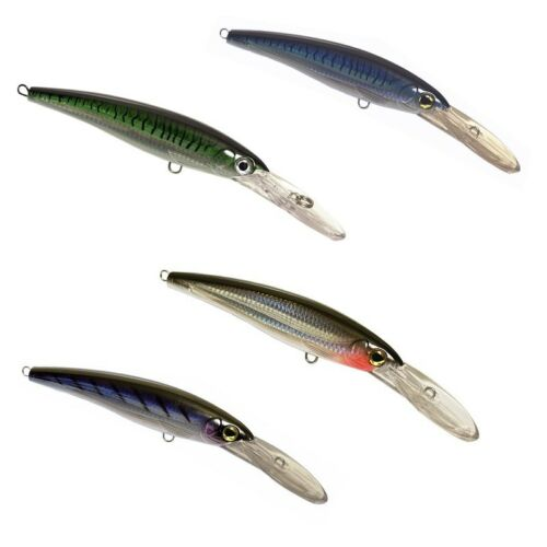Set of Four (4) OEM X-Rap® Magnum® Type Trolling Lures - 4 Colors 5 Sizes