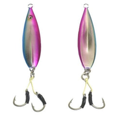 Pink Blue Fall Flat Jigs