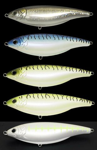 Set of Four (4) Colors - Floating Stick Shadd Shad Type SwimBaits - in 2 Sizes