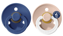 Load image into Gallery viewer, *NEW* Bibs Pacifier Size 2 - Toddler 6-18M (2pcs) - Midnight/Blush Night