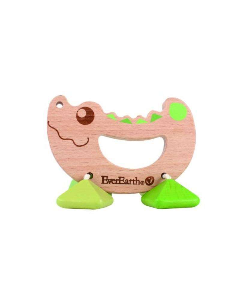 *NEW* EverEarth-Crocodile Rattle Toy