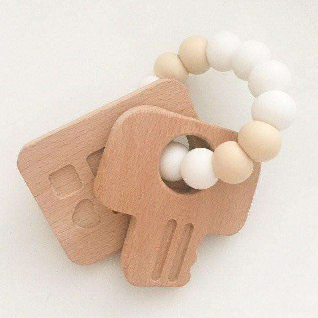 Keys to My Heart - Silicone & Beech Wood