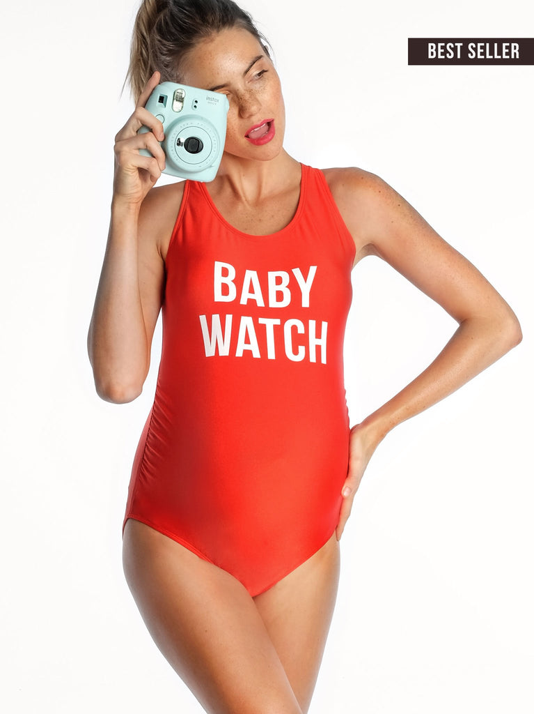 *NEW* Mamagama Baby Watch Maternity Swimwear