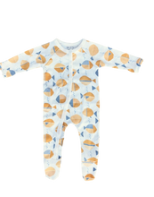Load image into Gallery viewer, *NEW* Olen Organic Footed Pajama - Meri Print