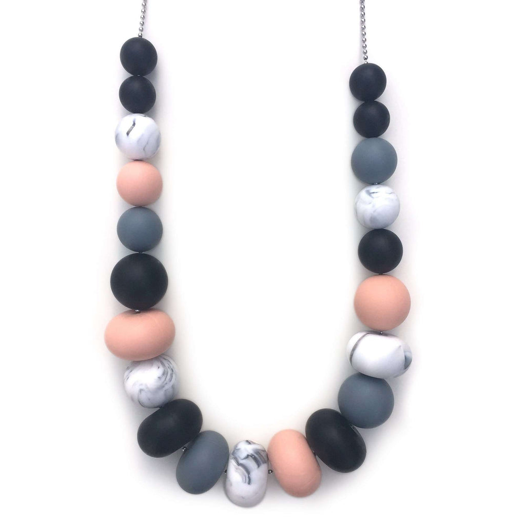 *NEW* Olivia Silicone On Stainless Chain Necklace