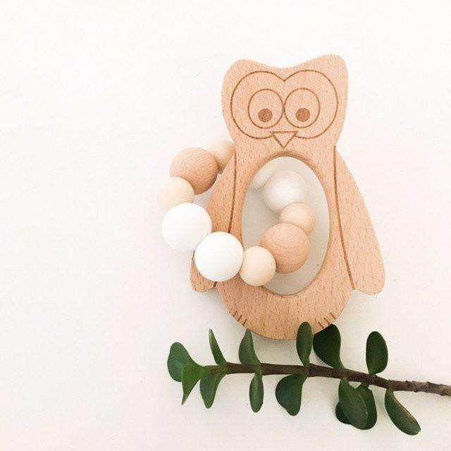*NEW* Fox & Owl Silicone and Beech Wood