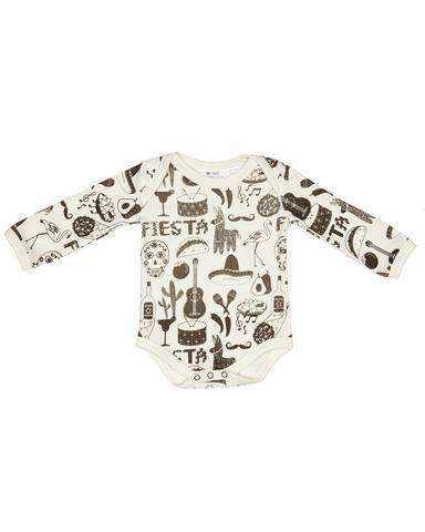 Fiesta -  Long Sleeves Baby Suit
