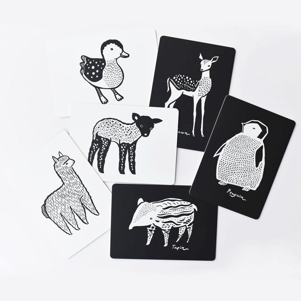 *NEW* Wee Gallery Baby Animal Collection Art Cards for Baby