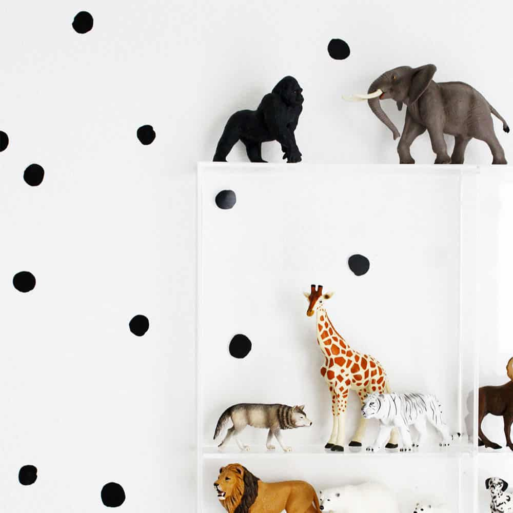 *NEW* Wee Gallery WeeCals Black Dots