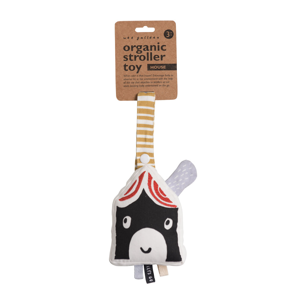 *NEW* Wee Gallery House Stroller Toy - Organic Cotton