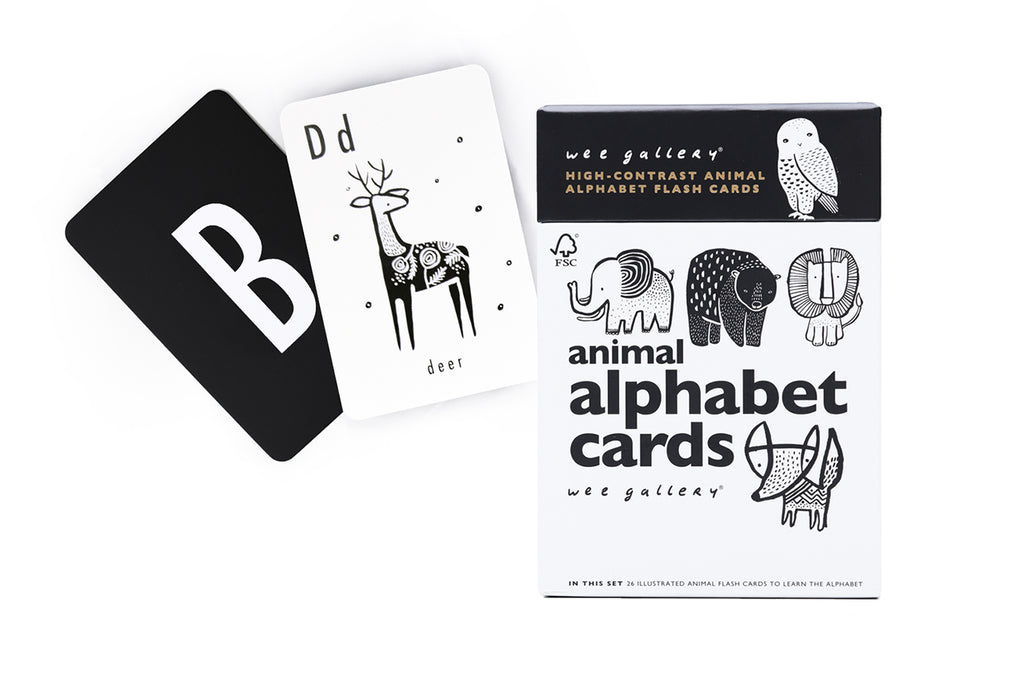 *NEW* Wee Gallery Animal Alphabet Cards