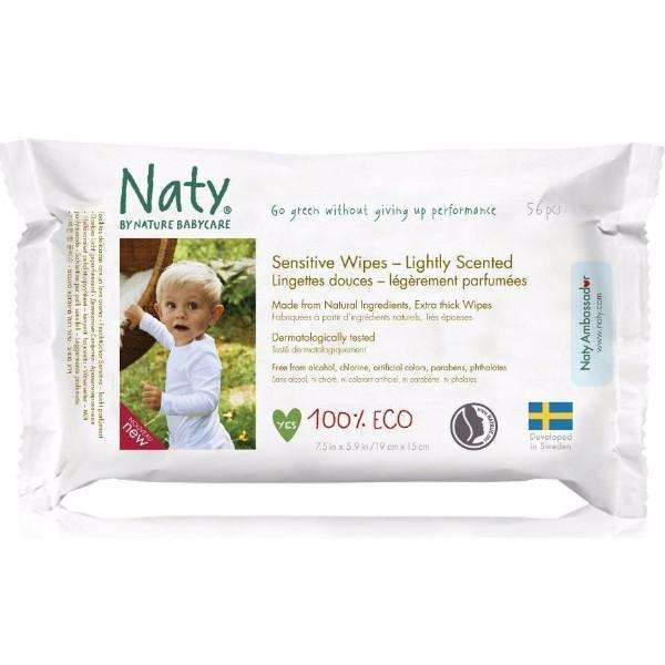 Naty - Wipes Lightly Scented (56 pcs)