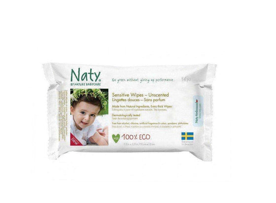 Naty - Wipes Unscented (56 pcs)