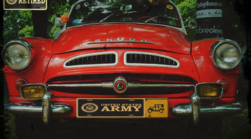 Why Your License Plate Can Show Off Your Passion For The Military