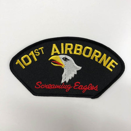"101st Airborne Screaming Eagles Black Patch (4"")"