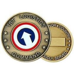 1st Logistic Command Challenge Coin (38MM inch)